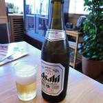 寿司居酒屋 日本海 - 中瓶ビール