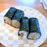 寿司居酒屋 日本海 - 納豆巻き