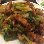 三国軒 - 豚肉とキャベツ辛み炒め(単体)