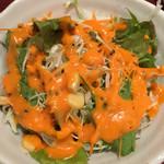 サモサ - サラダ