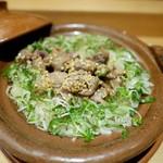 54146413 - 目地マグロ、鯛鰆鯛の炊き込みご飯