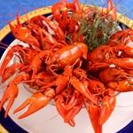 レストラン ストックホルム - 料理写真:ザリガニの塩茹で【夏季限定】