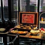 54147054 - 漬物、惣菜、汁物、デザートバー