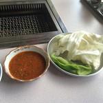 54148482 - 味噌ダレ 野菜