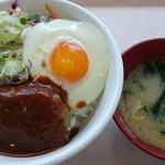 東京理科大学 カナル会館食堂 - 料理写真:ロコモコ丼。