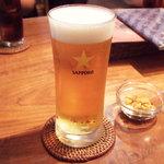 ムーナ - 生ビール(570円)