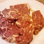 焼肉OKINA - \400のハラミA