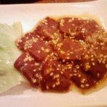 焼肉OKINA - レバ刺 \750