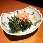 秋田料理 まさき - わらびおひたし