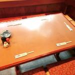 秋田料理 まさき - 【掘りごたつ】4、5名様で使えるお席です