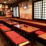 秋田料理 まさき - 【掘りごたつ】様々な宴会に対応できます。