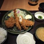 とんかつ 和幸 横浜ポルタ店 - ランチ たちばな。1005円。