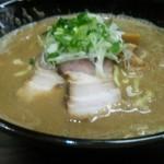 麺処 にそう - 煮干し醤油(並)¥750