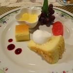 フルール・ドゥ・ソレイユ -  (2016-7-28) デザート