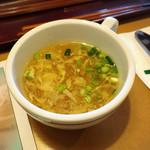 ブロンコビリー - セットのスープ
