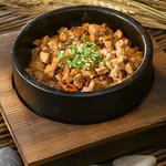 陳麻婆豆腐の土鍋仕立て