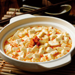 上海蟹味噌と豆腐の煮込み