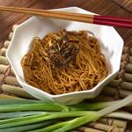 葱油と醤油風味の和え麺