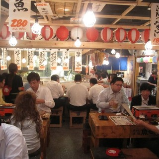 懐かしい昭和の雰囲気が漂う…ワイワイ楽しめる宴会に最適な空間