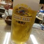 ひょうたん - 生ビール(500円)