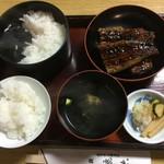 うなぎ料理 鹿六 - 鰻定食
