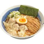 麺処 直久 - 肉玉雲呑麺醤油