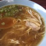 鶏泉 - 鶏ガラ激熱美味しいスープたっぷり