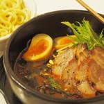 ゆるり 中華食堂 癒食同源 - 石焼き黒胡麻坦々つけ麺