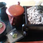 そば処 遠州庵 - 料理写真:大ざる600円
