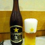サンサール - ビール(600円)