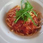 セルフィーユ - 野菜のトマトソースパスタ