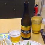天下一 - 瓶ビール480円+税
