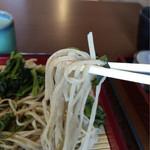 金山庵 - 麺アップ