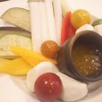 さくらみち - 生野菜のバーニャカウダ