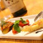 ROBEN-SO - 料理写真:「気まぐれ前菜3種盛合せ」本当に気まぐれなのでメニューに載ってない時も・・・