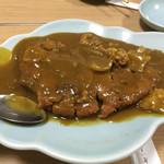 中華料理 揚子江 - 定番カツカレー 2016/7