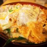 手打ちうどん吉野 - 料理写真:かつ丼セット(かつ丼)