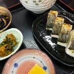 道の駅若狭熊川宿 四季彩館 - おいしい焼き鯖寿司でした