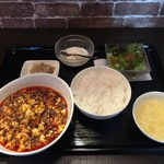 54169948 - 麻婆豆腐定食、850円です。