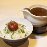 出汁茶漬け(梅)