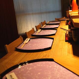 神楽坂 翔山亭 黒毛和牛贅沢重専門店 神楽坂本店 - 内観② テーブル席
