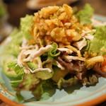 ブーガルー - 鶏とサラダ