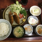 一二三食堂 - アジフライ定食