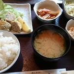 54179661 - いわしつみれ揚げ定食