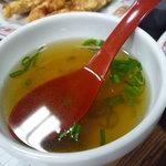 餃子の王将 - ☆あっさりスープは焼き飯に付いていたのかなぁ◎☆