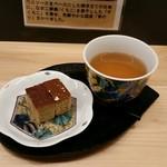 54181842 - コーヒーカステラとお茶
