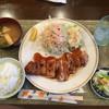 とんかつ信 - 料理写真:鶏モモステーキ