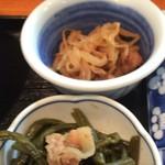 磯乃瀬 - 昼定食の小鉢