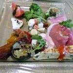 タンタ ローバ - 前菜盛り合わせ