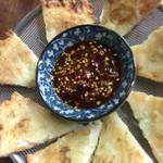韓料理夢回廊 - 小海老のチヂミ 小